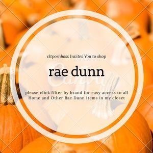 LOTS of Rae Dunn available in Home & Women Market